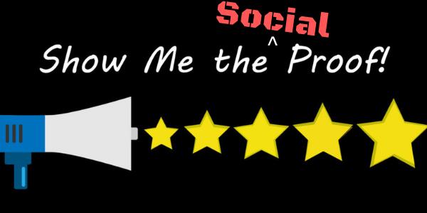 Fact: Social Proof Matters